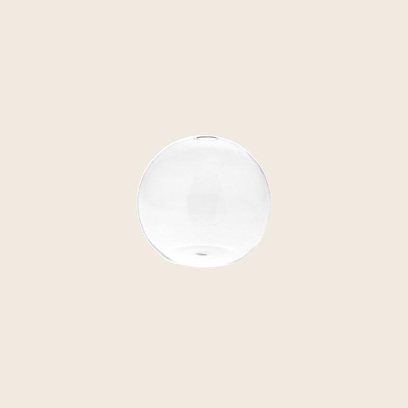 Clear Round Vase Mini