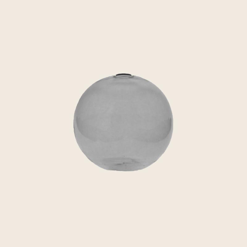 Grey Round Vase