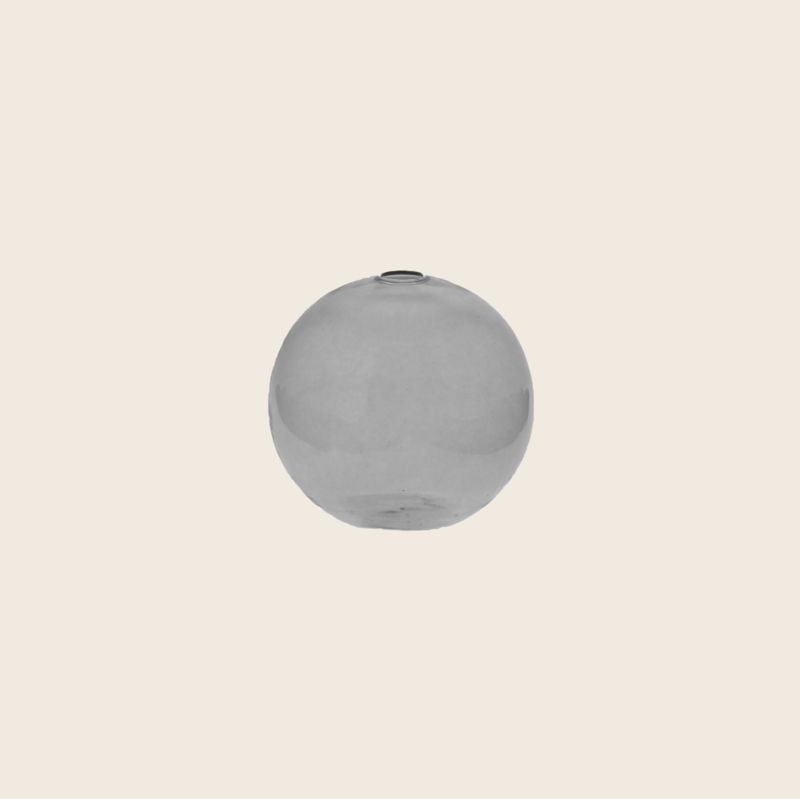 Grey Round Vase Mini