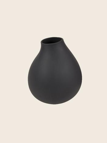 Matte Dark Grey Vase Ø15