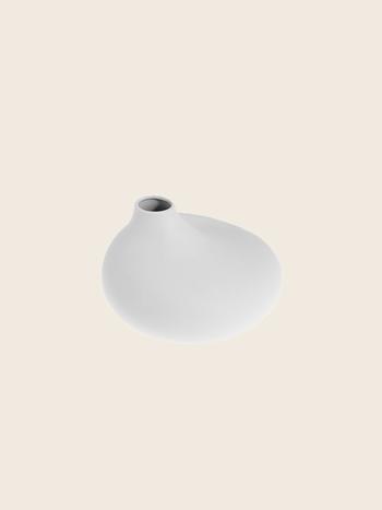 Matte Light Grey Vase Ø9.5