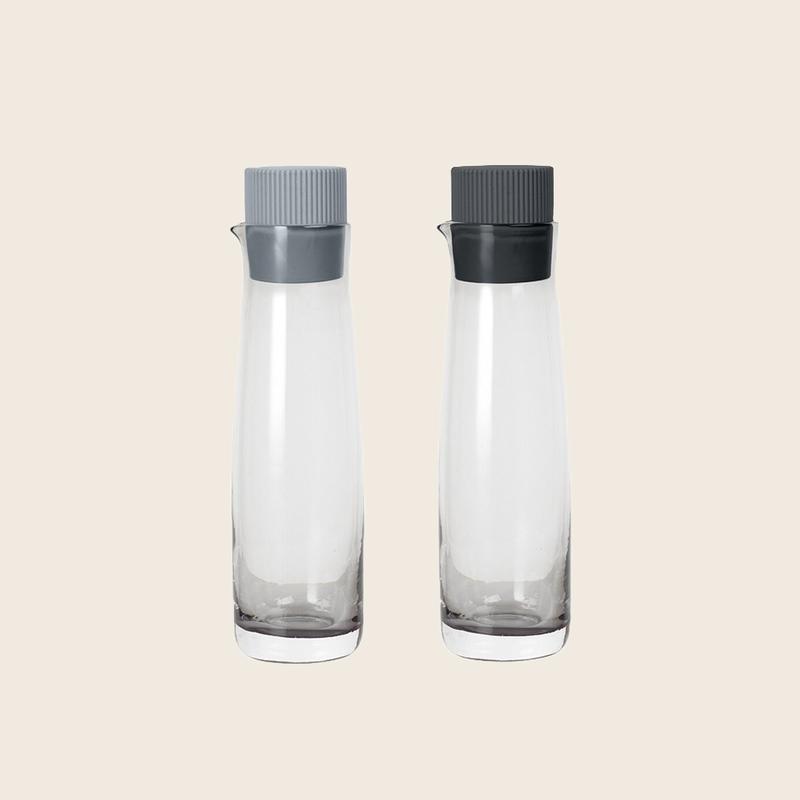 Blomus Oil And Vinegar Set Grey