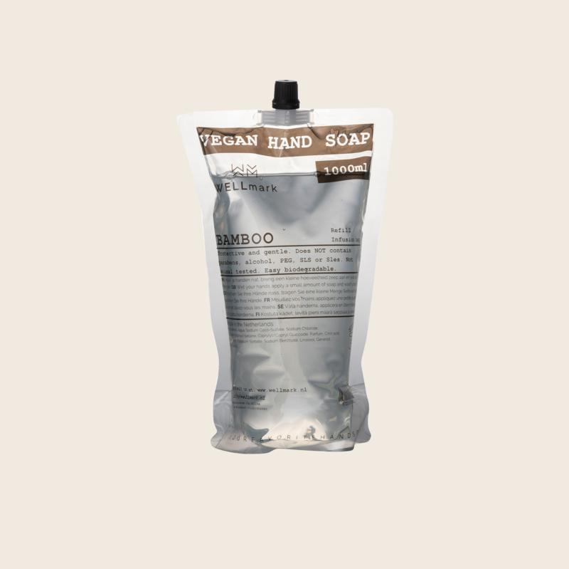 Wellmark Refill Vegan Hand Soap - Bamboo