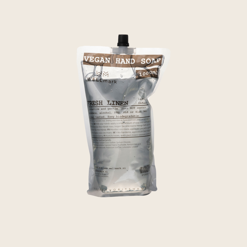 Wellmark Refill Vegan Hand Soap - Fresh Linen