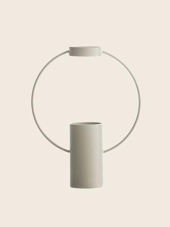 Ring Vase Sand Big