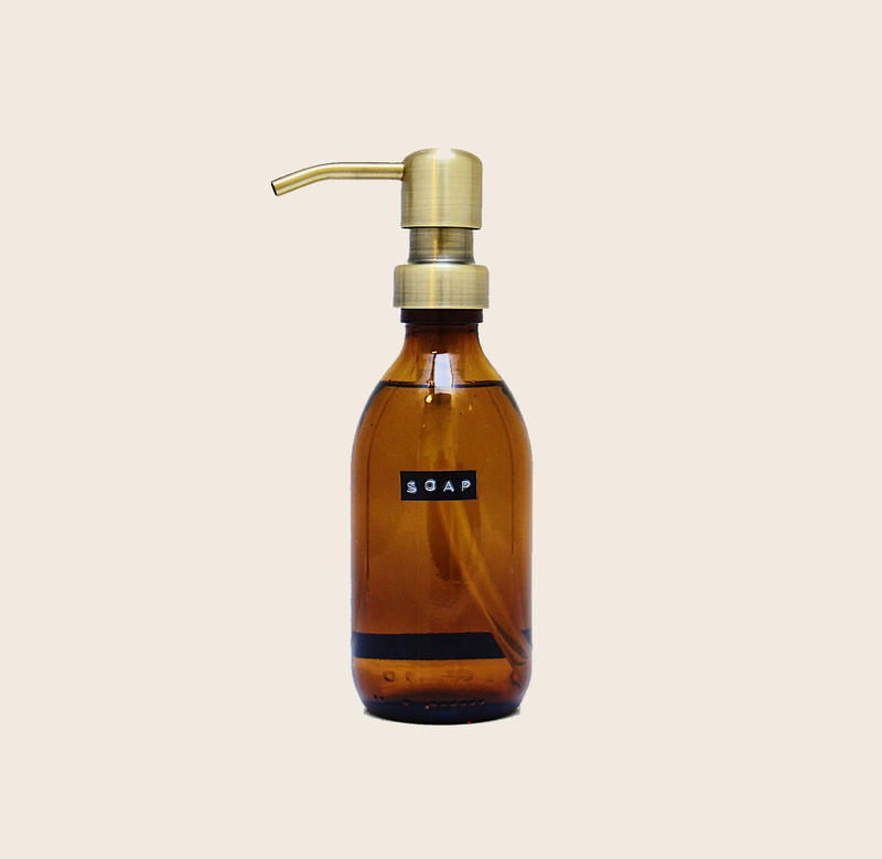 Wellmark SOAP 250ML BRASS