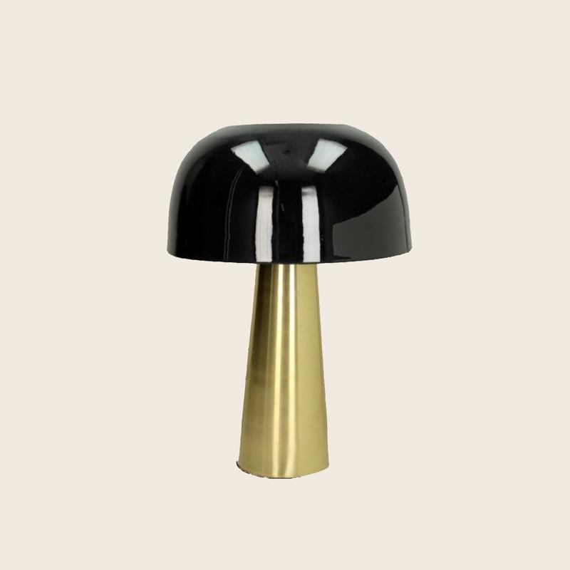 Table lamp Black + Gold