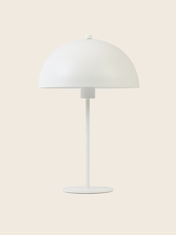 White Metal Lamp