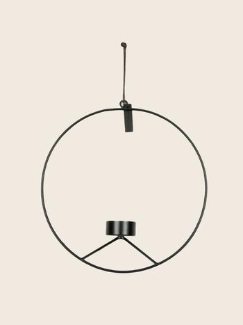 Wall Candle Holder Circle