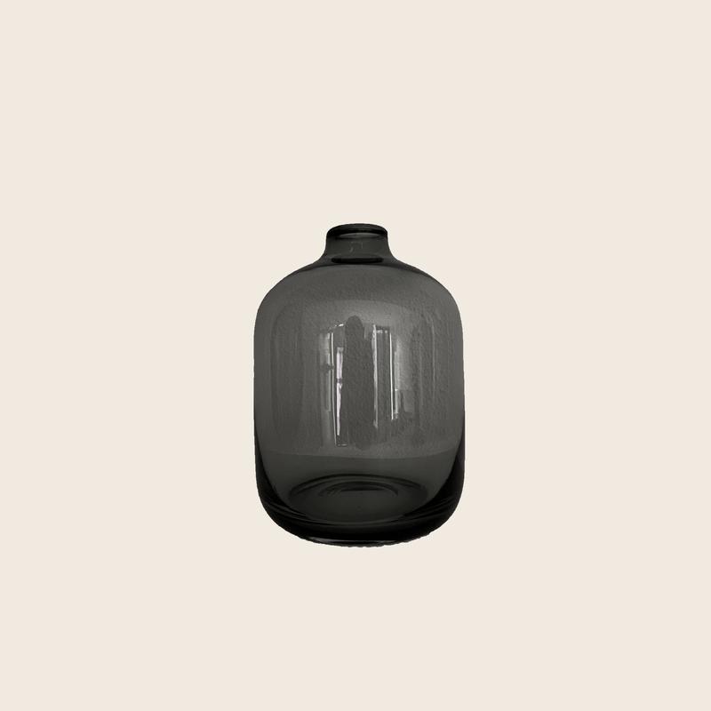 Dark Glass Vase