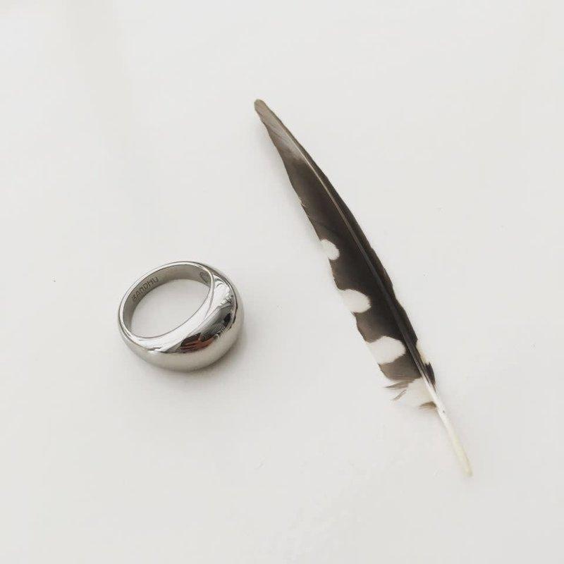 Bandhu Bouble Ring Silver