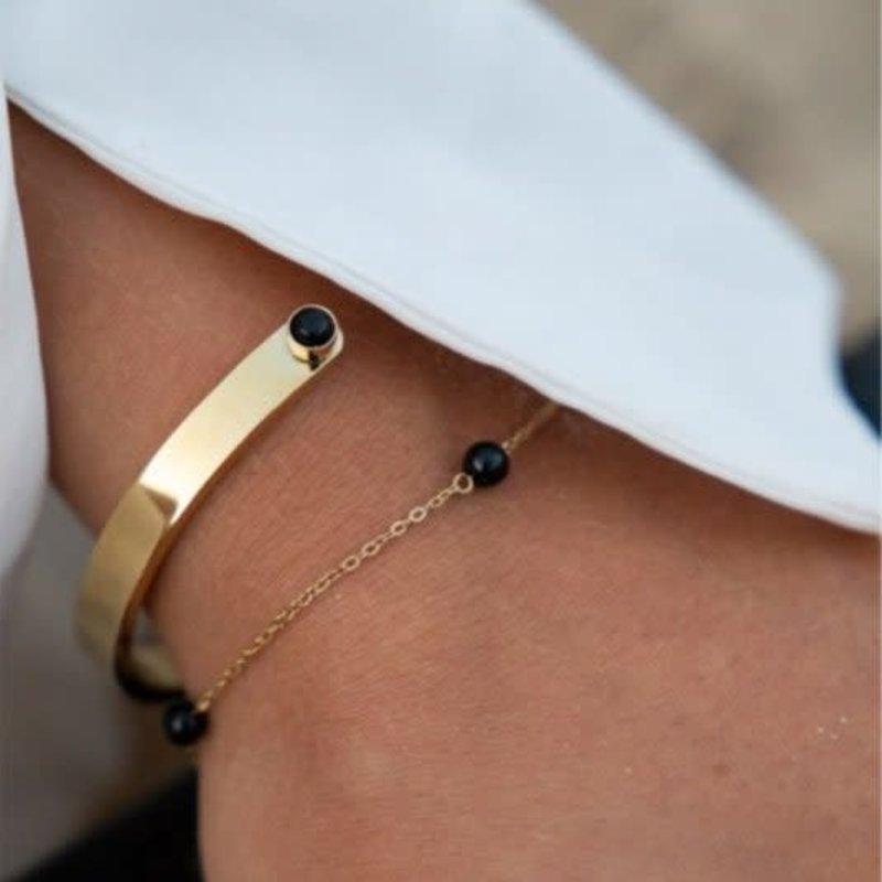 Bandhu Energy Muse Bracelet Gold