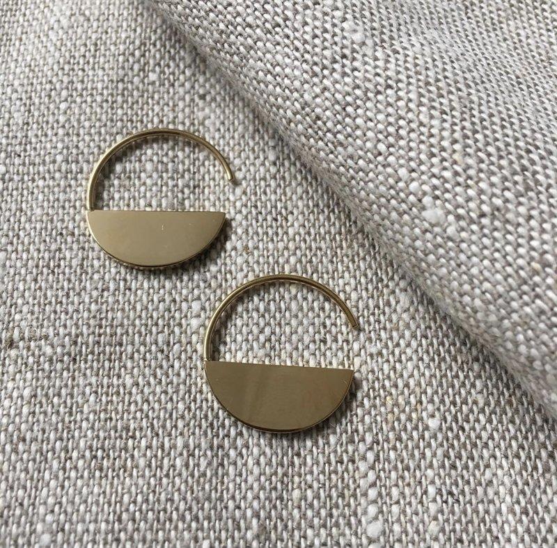 Bandhu Horizon Earrings Gold