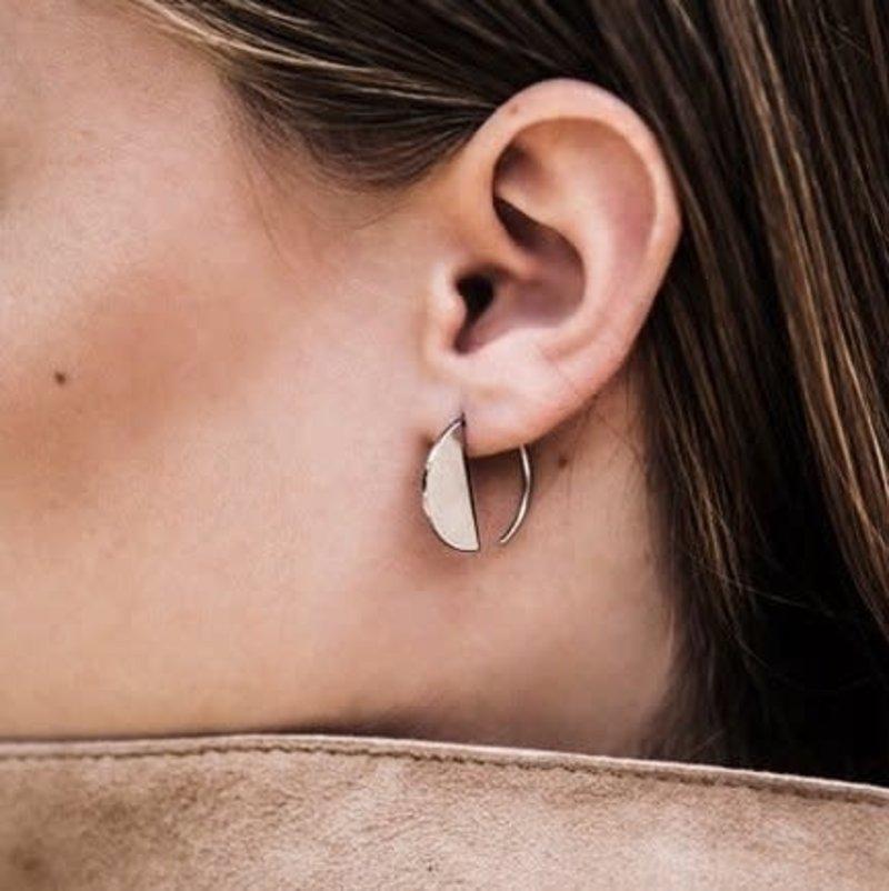 Bandhu Horizon Earrings Silver