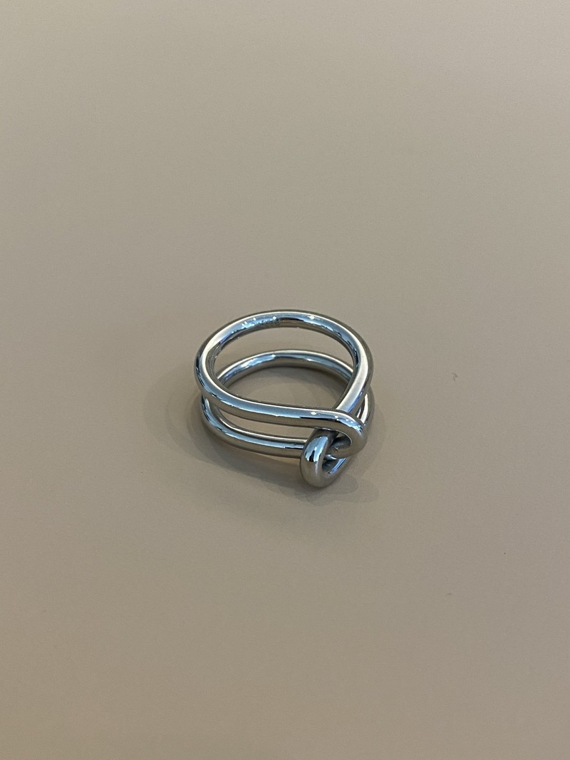 Bandhu Wire Ring Silver
