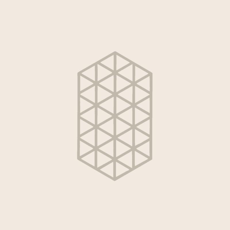 Zone Denmark Coaster Triangles Warm Grey XL