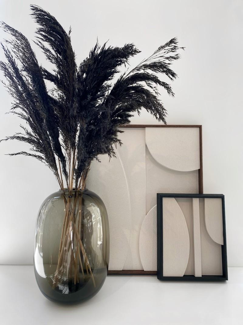 Housewolf Smoked Glass Vase