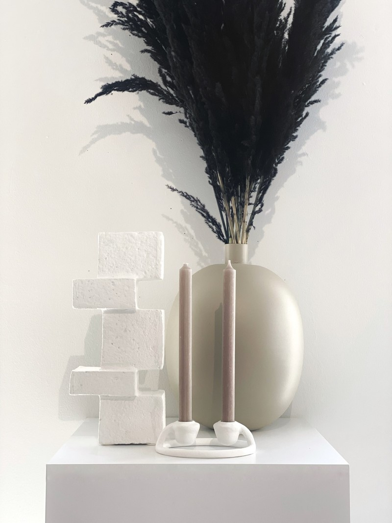 Mole Metal Vase Ø26