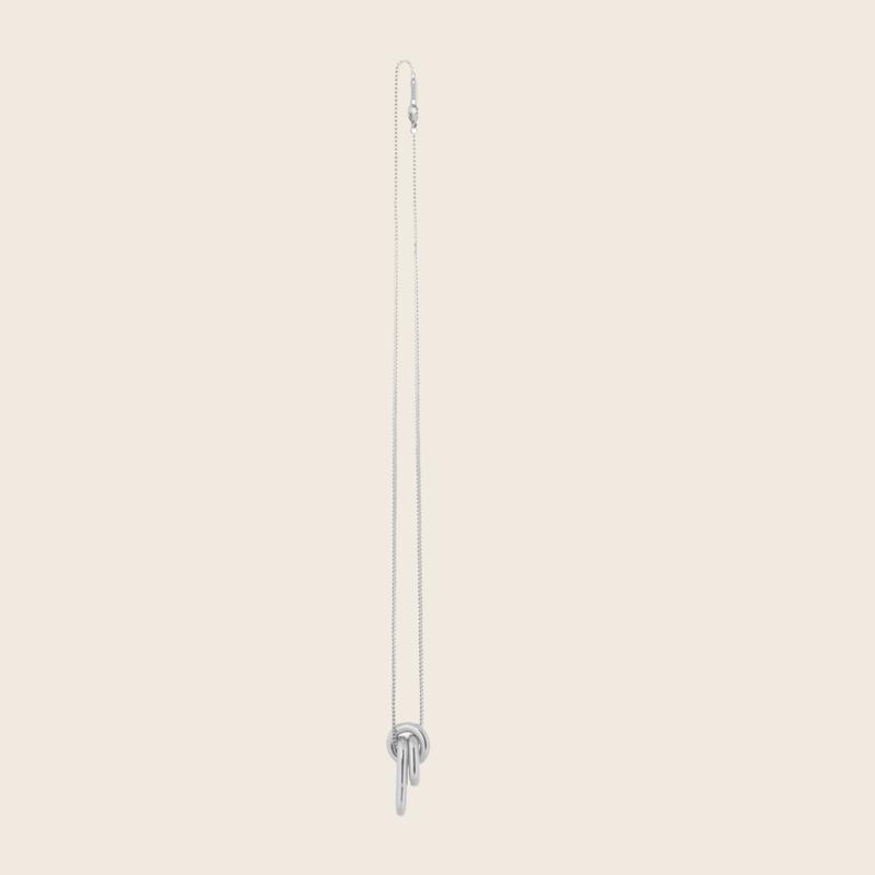 Bandhu Linked Necklace Silver