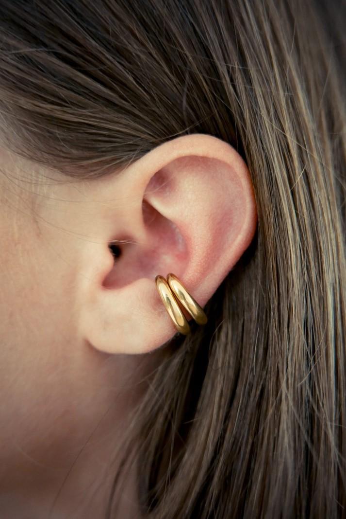 Bandhu Embrace Ear Cuff Gold