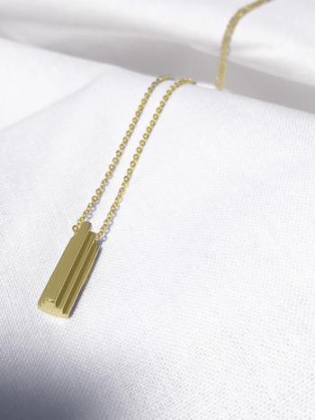 Bandhu Stack Necklace Gold