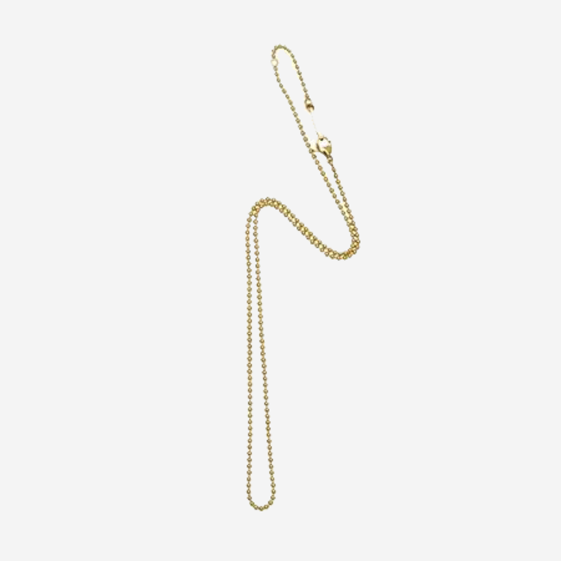 Bandhu Small Ball Chain Necklace Gold