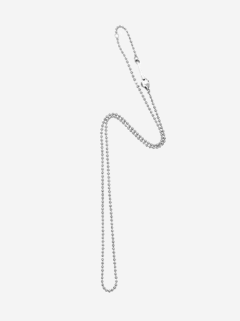 Bandhu Small Ball Chain Necklace Silver