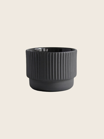 Archive Studio Mug Cappuccino Dark Grey 120ml