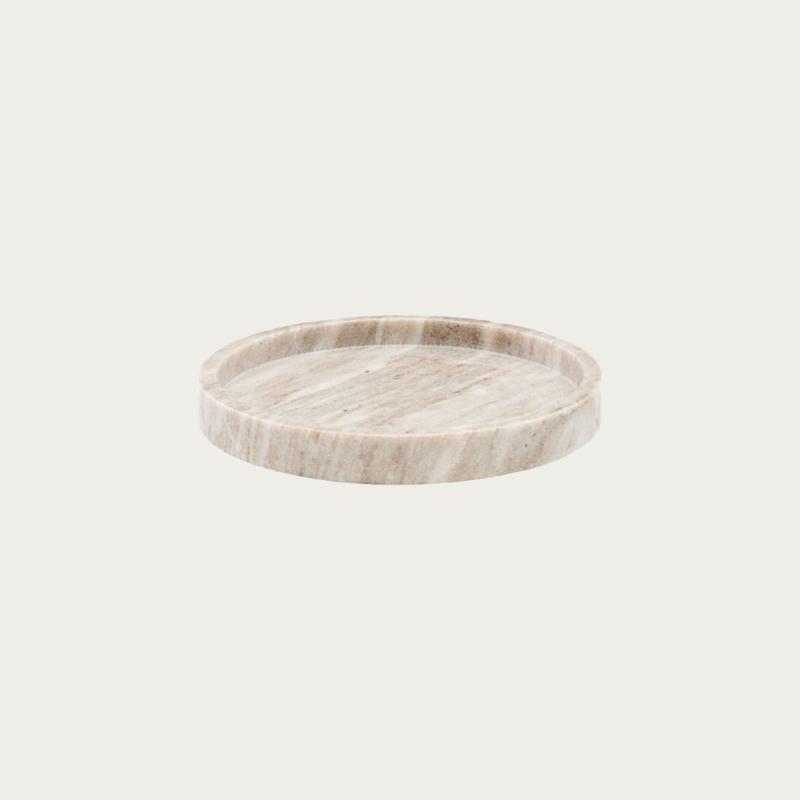 Meraki Marble Tray Ø 25 cm