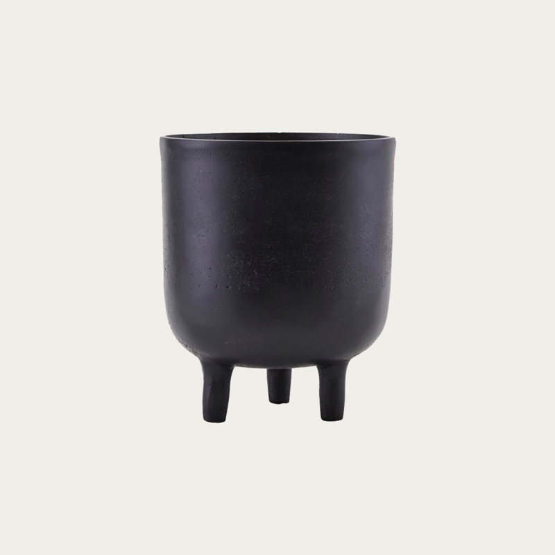 House Doctor Pot Paws Black