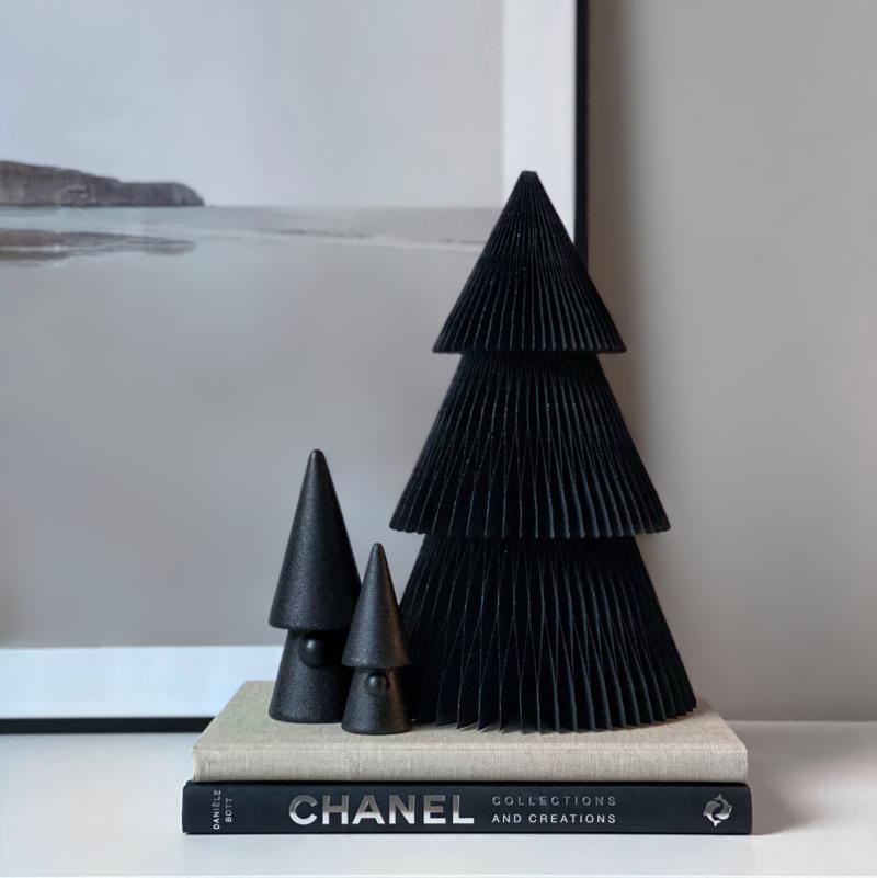 Large Santa tree Black