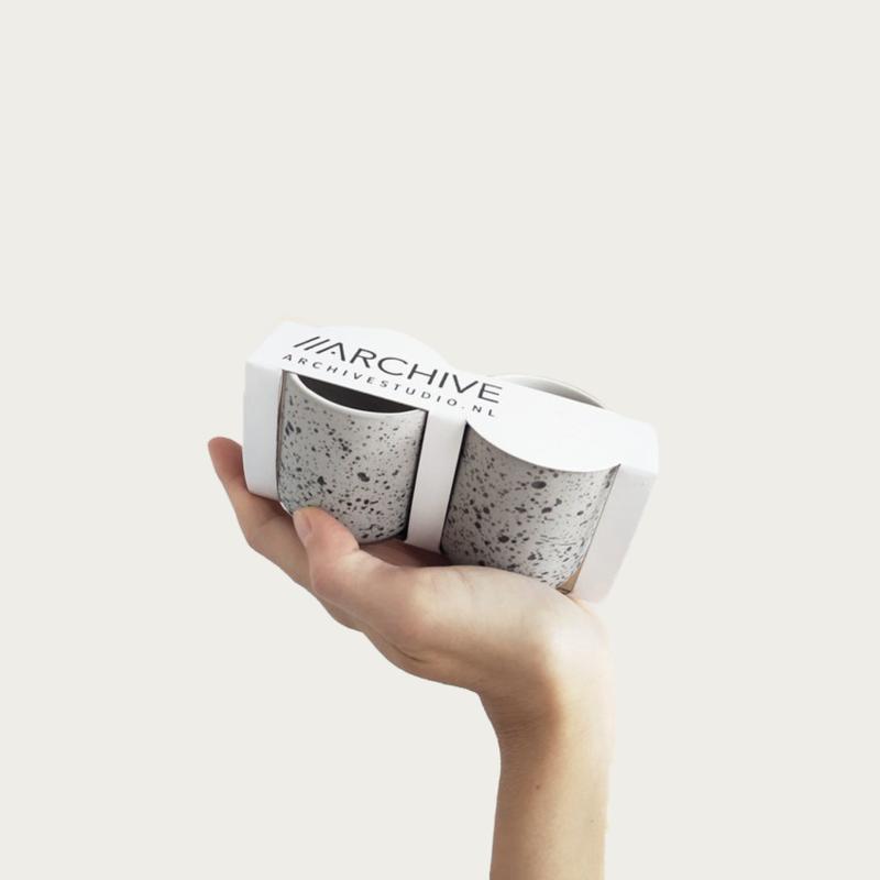Archive Studio Set of 2 Espresso Cups
