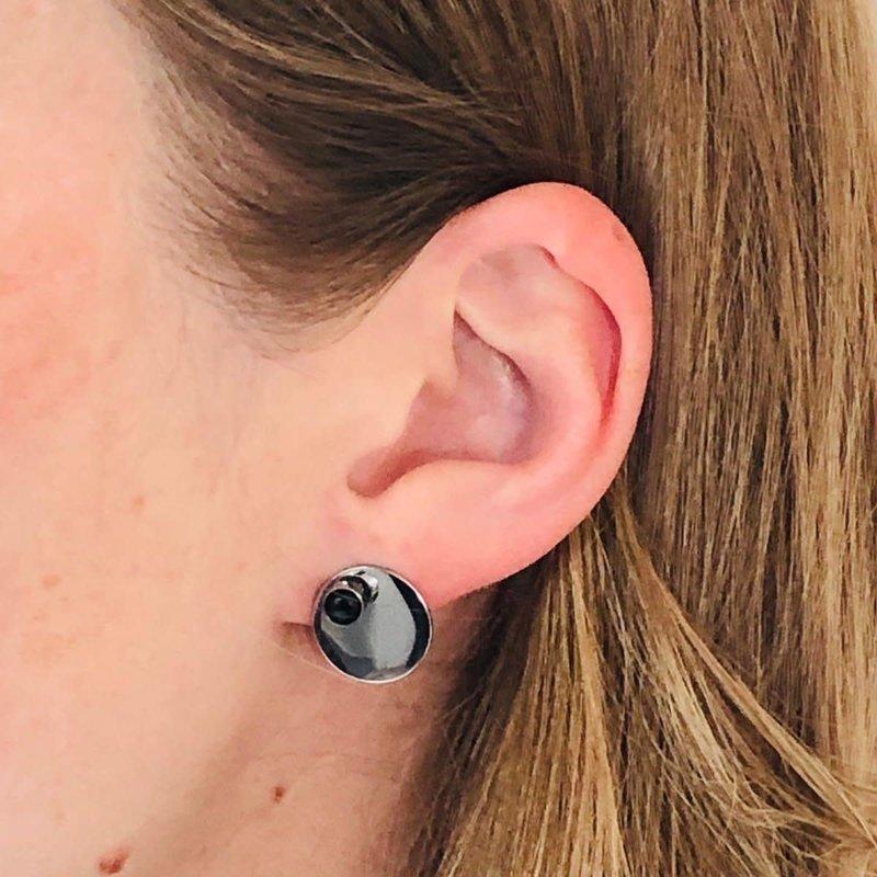 Bandhu Energy Muse Double Earrings Silver