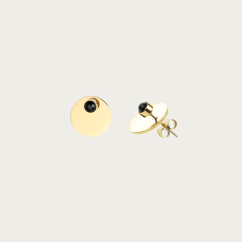 Bandhu Energy Muse Double Earrings Gold