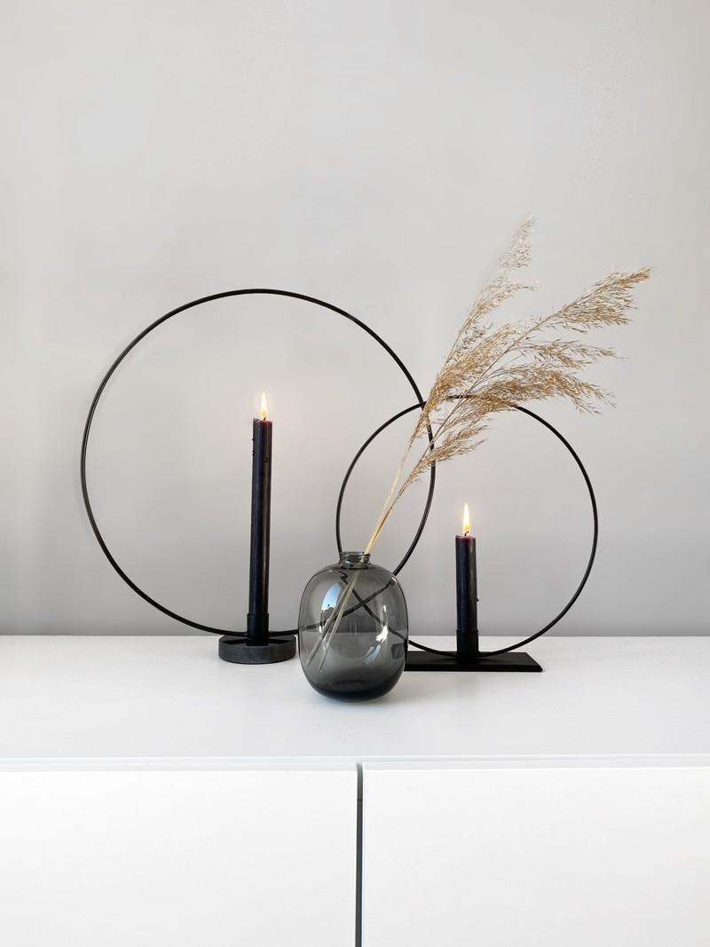Diner Candle Black
