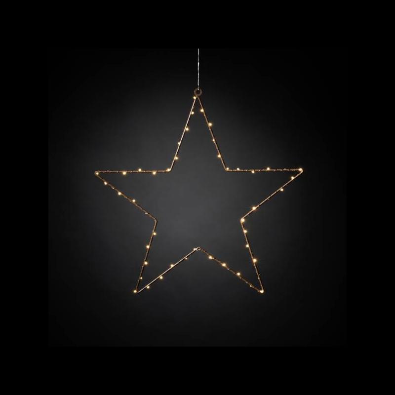 Star with Lights Ø30cm