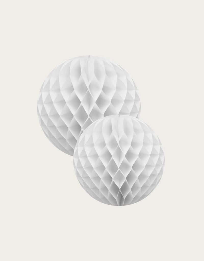 White Honeycomb Set