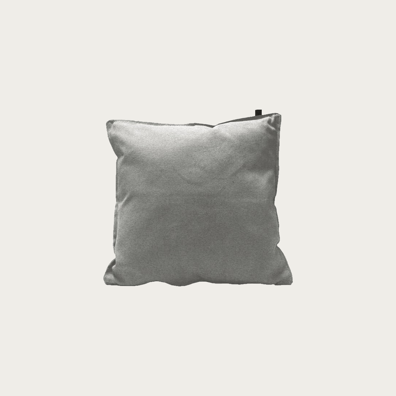 Canvas Grey Pillow 45x45