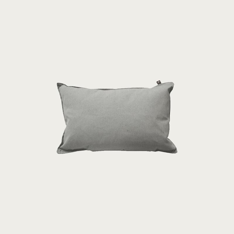 Canvas Grey Pillow 40x60