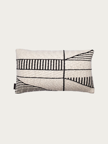 Black & Beige Pillow 50x30