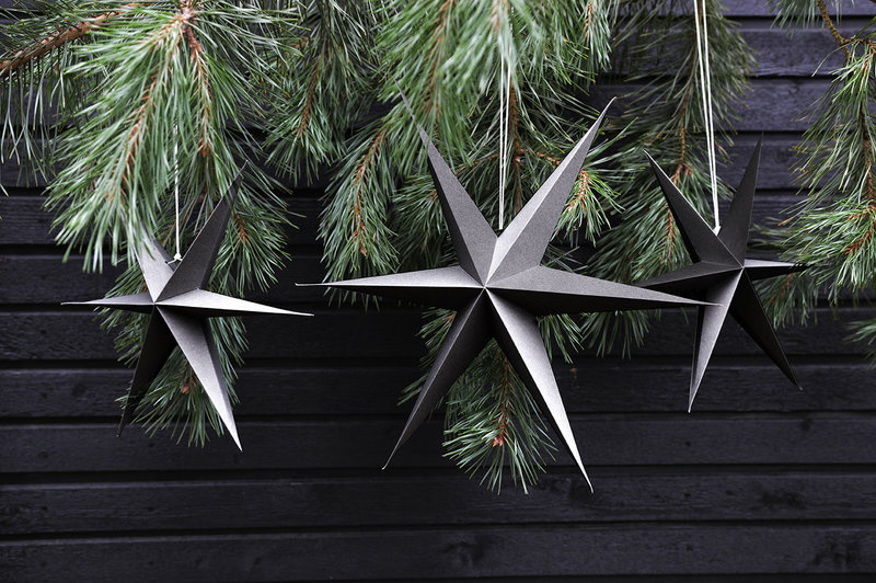Gray Paper Stars