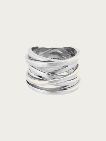 Bandhu Coil Ring Silver
