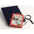 Davo Davo, Stamp package incl. stock book, tweezers and loupe, Sports