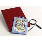 Davo Davo, Stamp package incl. stock book, tweezers and loupe, Dogs & Cats