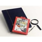 Davo Davo, Stamp package incl. stock book, tweezers and loupe, Ships