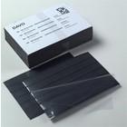 Davo Davo , Zwarte insteek kaartjes met transparante afdekfolie typeN.5