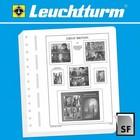 Leuchtturm Leuchtturm supplement, Great Britain, definitve and  commemorative stamps, year 2019