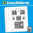 Leuchtturm Leuchtturm supplement, Great Britain, definitve and  commemorative stamps, year 2018