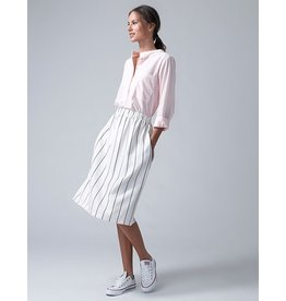 Dutchess Lucky skirt - white stripe
