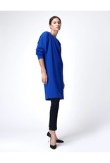 Dutchess Sweater dress - cashmere - electric blue